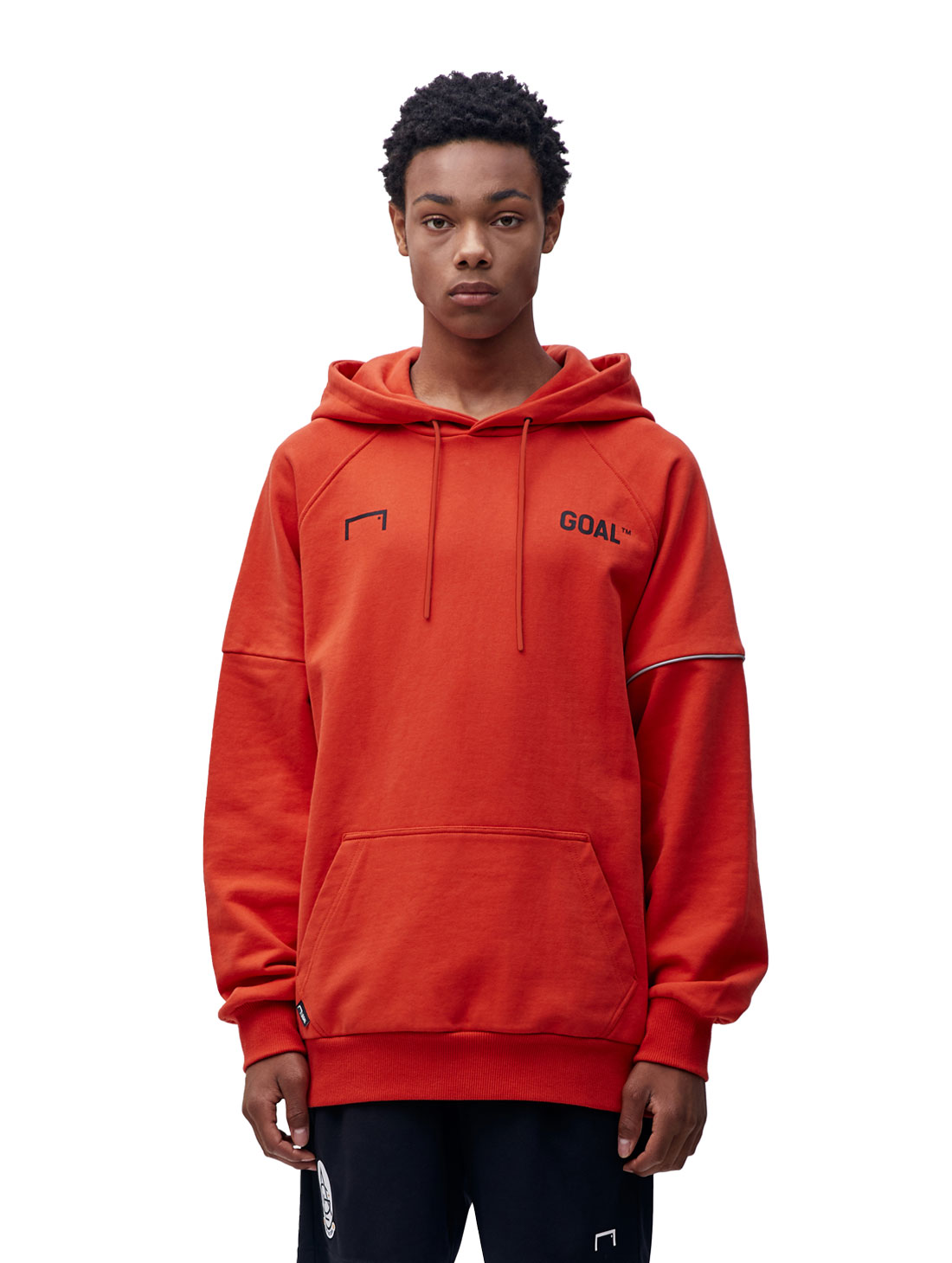 GOALSTUDIO RESPECT HOODIE - ORANGE