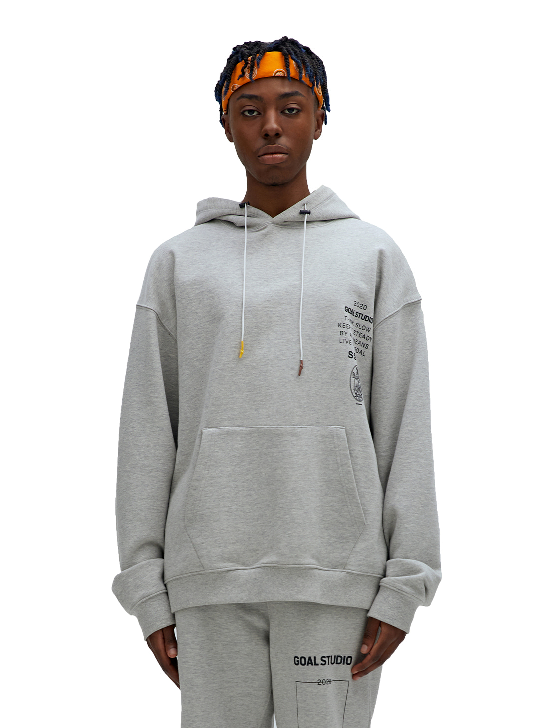 GOALSTUDIO SSFC JERSEY HOODED SWEATSHIRT - GREY
