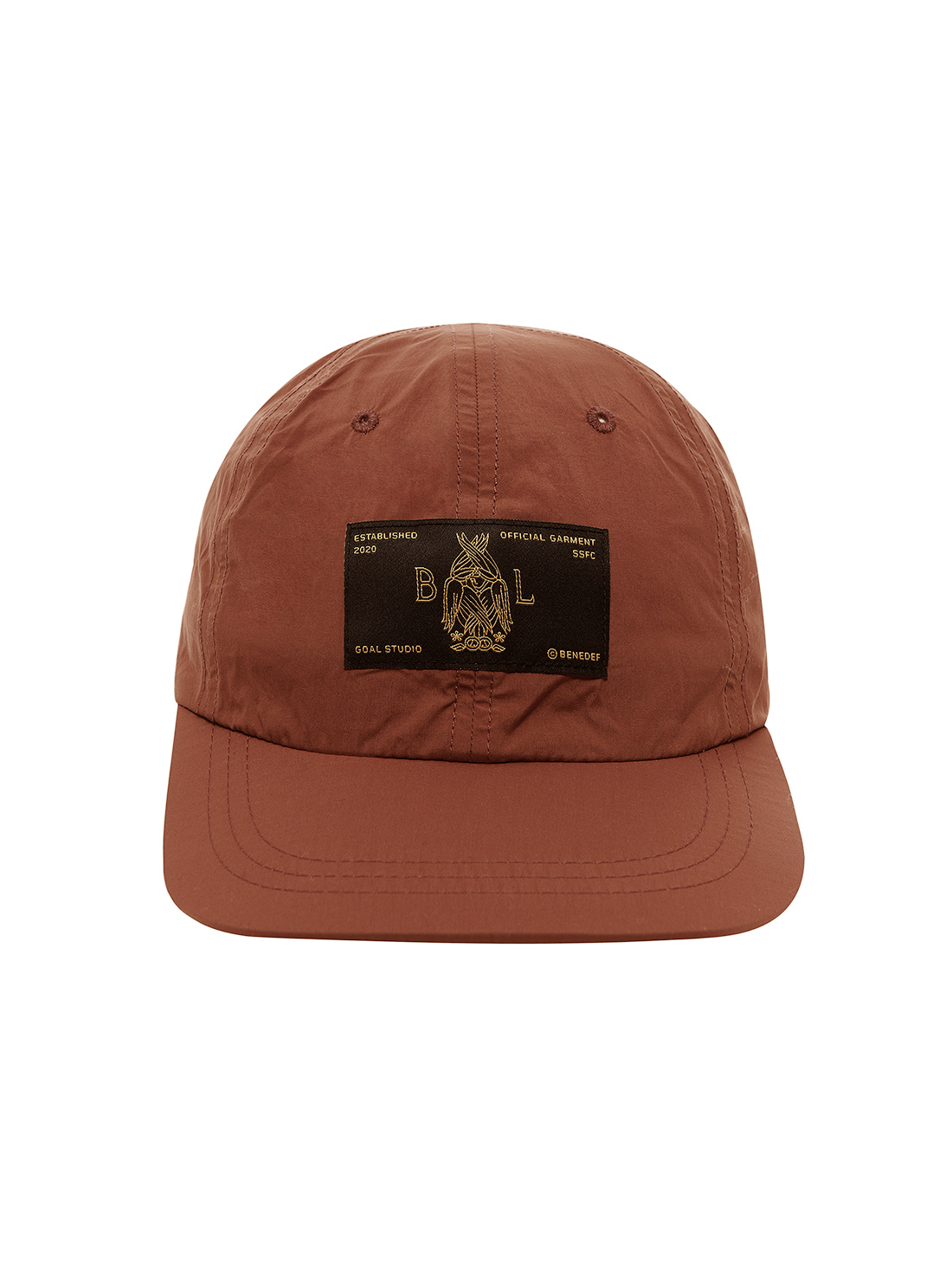 GOALSTUDIO SSFC BALL CAP - BROWN