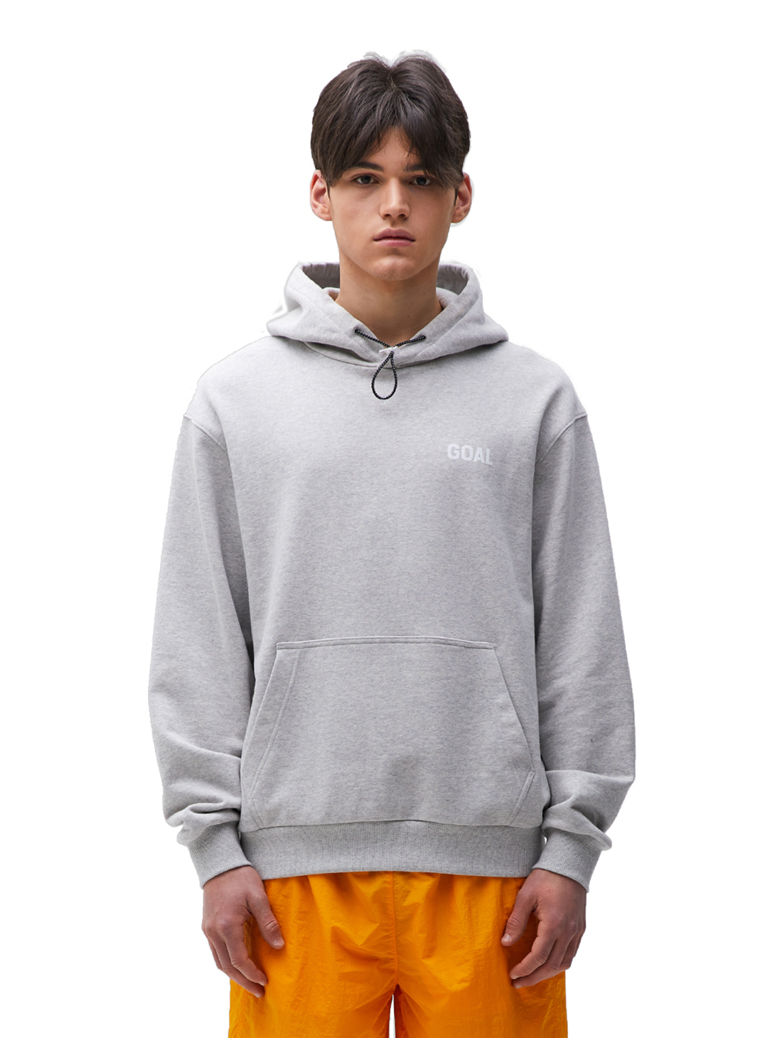 GOALSTUDIO FLOCKING HOODIE - GREY