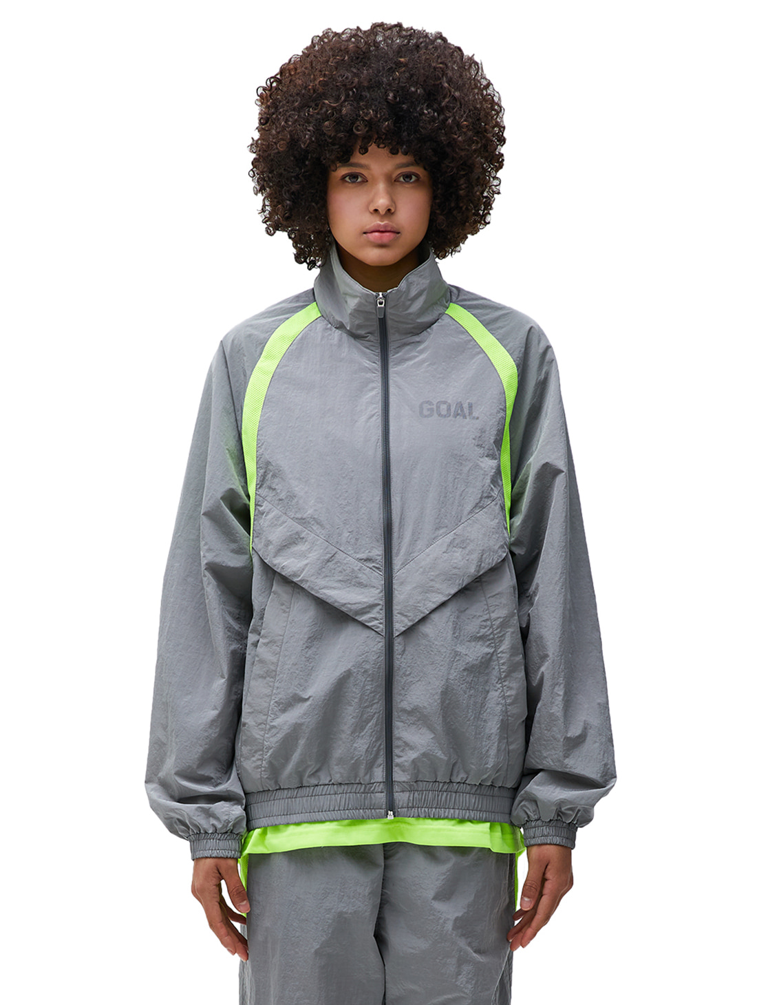 GOALSTUDIO WARMUP JACKET - GREY