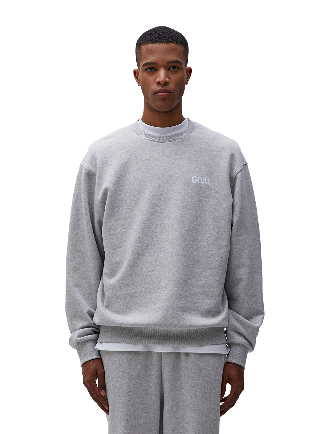 GOALSTUDIO FLOCKING SWEATSHIRT - GREY