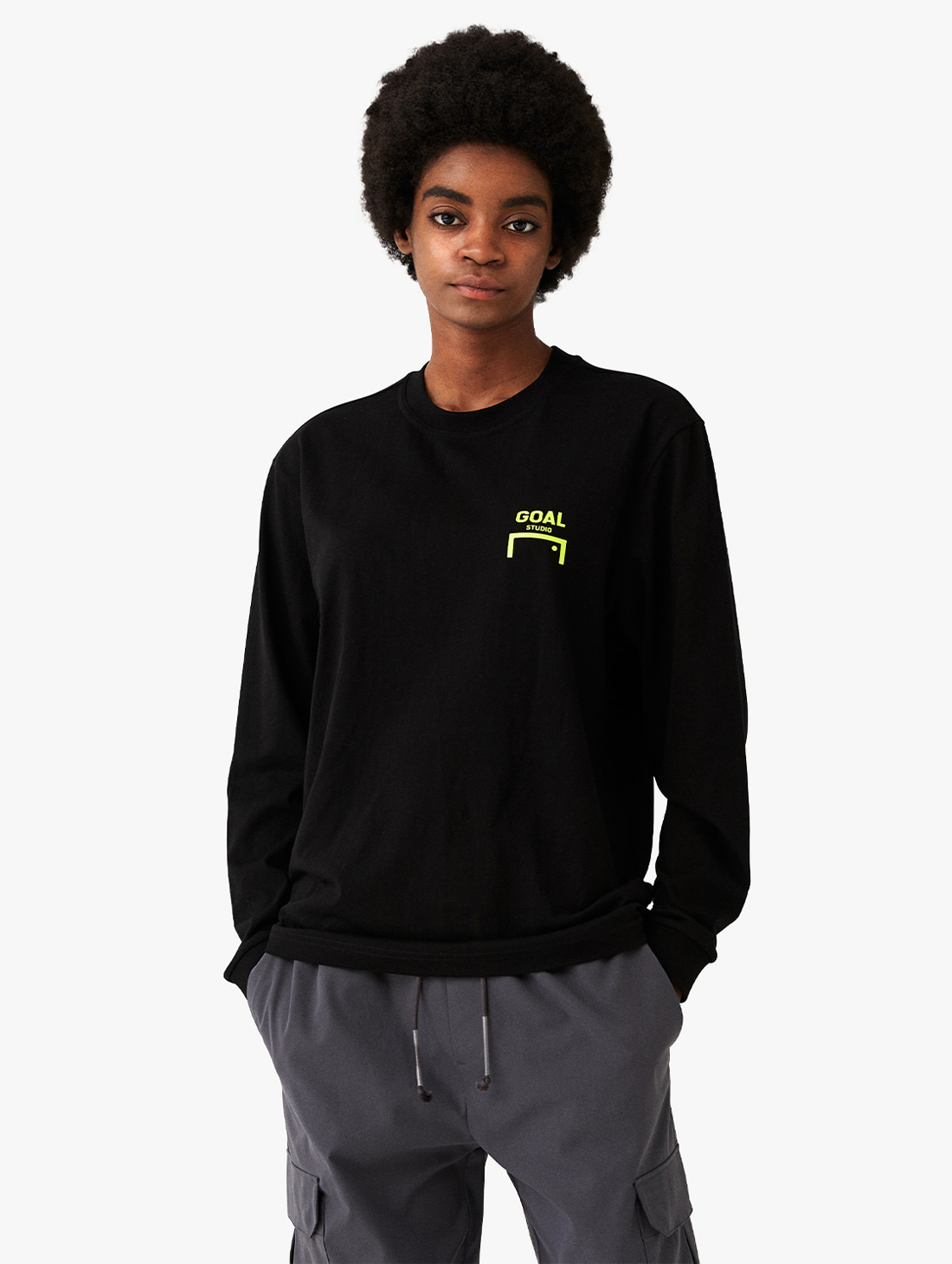 GOALSTUDIO LOGO LONG SLEEVE TEE (3 Colors)