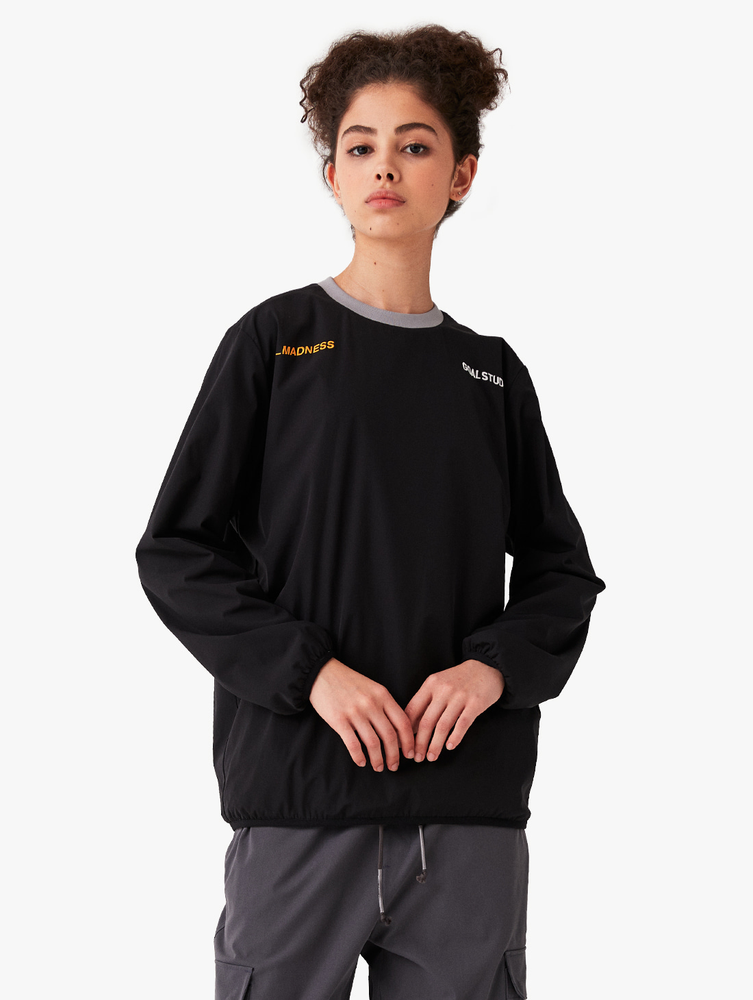 GOALSTUDIO REVERSIBLE FLEECE WINDPULLOVER (2 Colors)