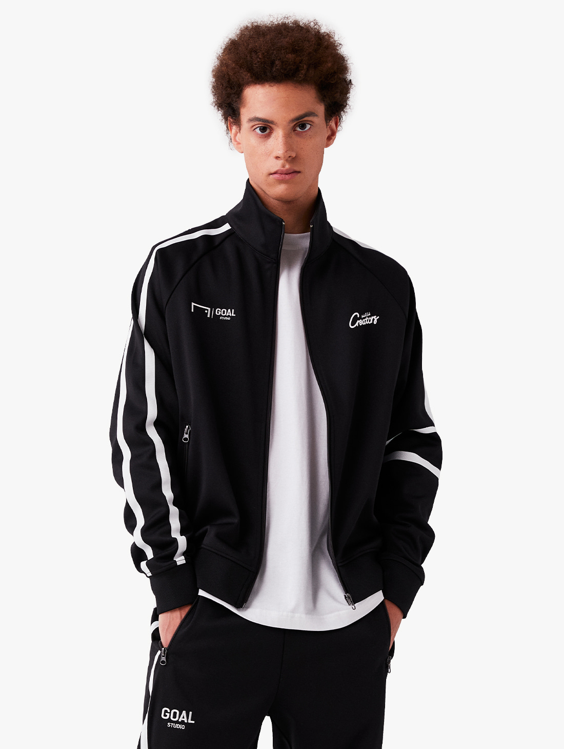 GOALSTUDIO CFC TRACK ZIP-UP JACKET