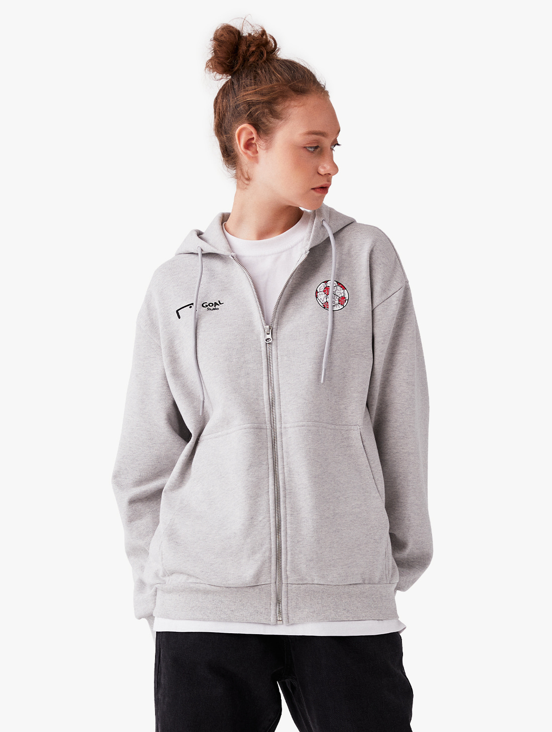 GOALSTUDIO CFC ZIP UP HOODIE (2 Colors)