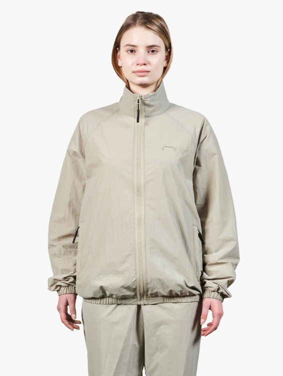 GOALSTUDIO LOGO EMBRODERY JACKET - BEIGE