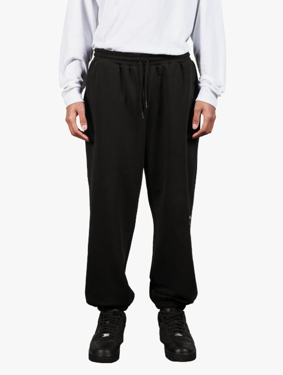 GOALSTUDIO SIGNATURE LOGO PANTS - BLACK